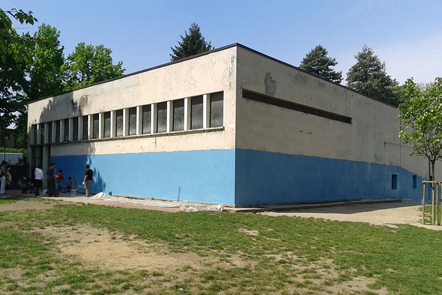 intervento scuola Martin Luther King di Milano